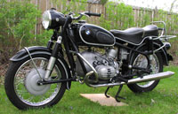 1965 BMW 1200 Motorcycle