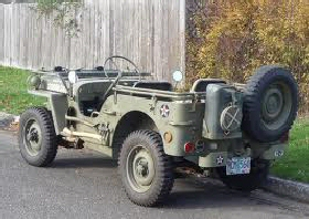 WW II Jeep