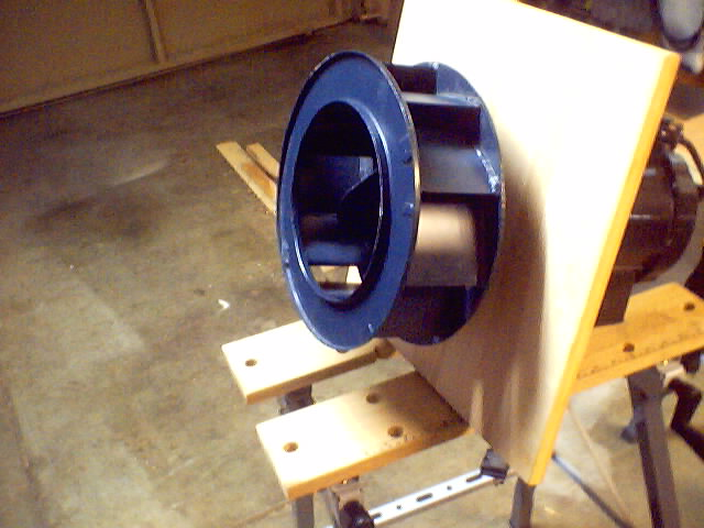 Dust Collection Research Airfoil Blower