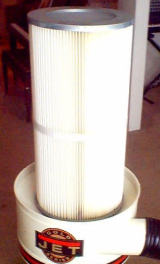 Dust Collection Research Dust Collector Cartridge Conversion
